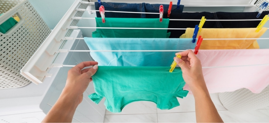 FEATURE IMAGE - ARE DEHUMIDIFIERS GOOD FOR DRYING CLOTHES_