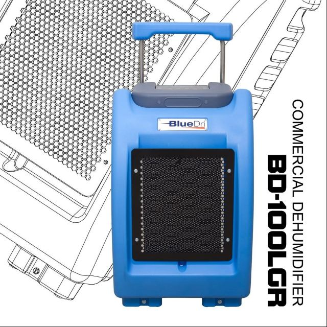 BlueDri-BD-100LGR-Blue-Commercial-Dehumidifier-2