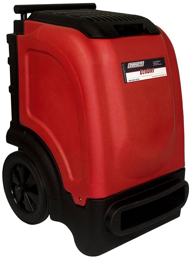 EcoDry Red Commercial Dehumidifier