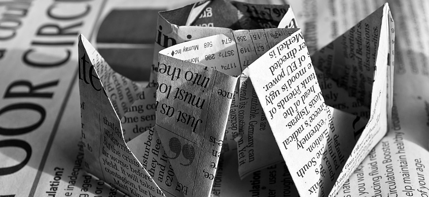 FEATURE IMAGE - 69 OF THE BEST USES FOR RECYCLED PAPER