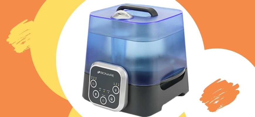 FEATURE IMAGE - BIONAIRE HUMIDIFIER REVIEW
