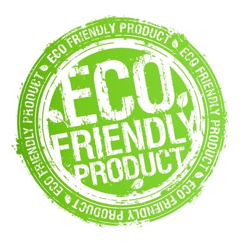Eco friendly product stamp.