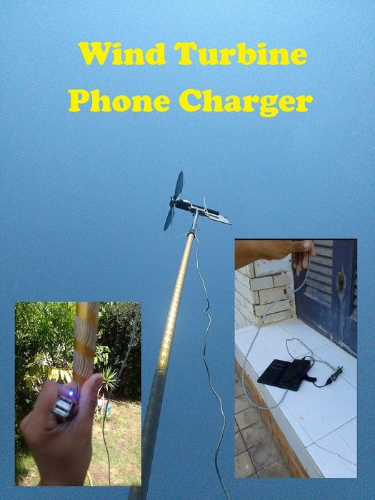 Charge Your Phone with Wind!