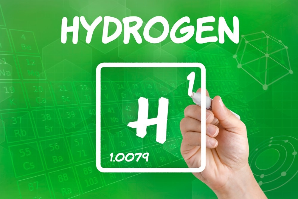 Symbol for the chemical element hydrogen