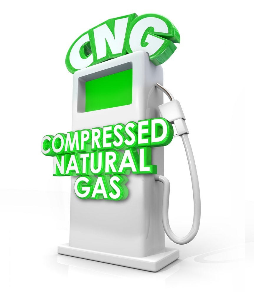 Compressed Natural Gas CNG Alternative Fuel Pump