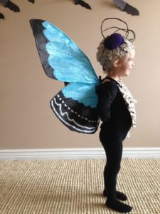 Paper Butterfly Costume