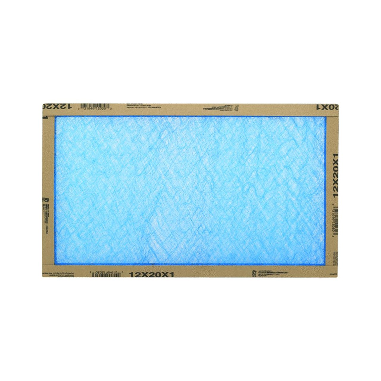 Flanders/Precisionaire 12x20x1 Fiberglass Furnace Filters in white background